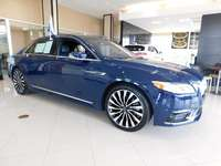 2017 Lincoln Continental Blac