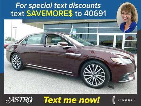 2017 Lincoln Continental Select AWD for Sale  - P5980B  - Astro Auto